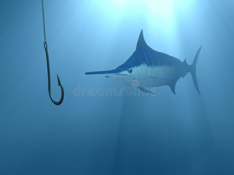 undervattens- betelås royaltyfri illustrationer