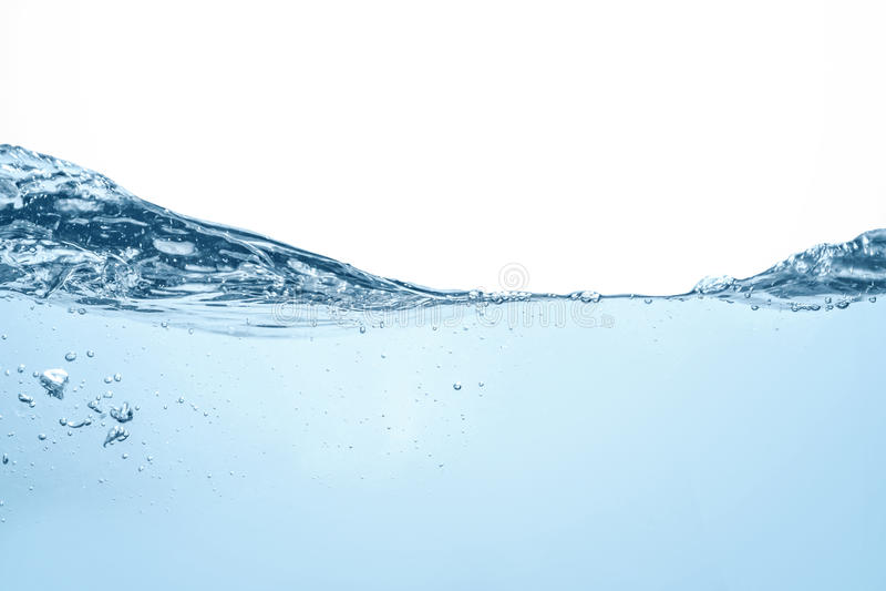 Undervattens- fotografi för våg för blått vatten för havplatsstrom royaltyfria foton