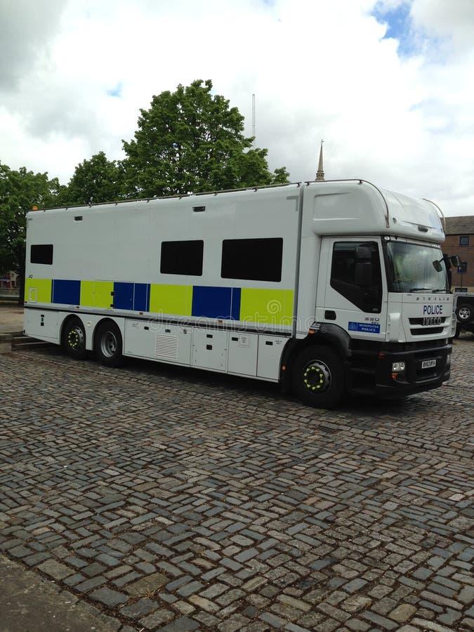 Undervattens- lagskåpbil för polisen royaltyfri foto