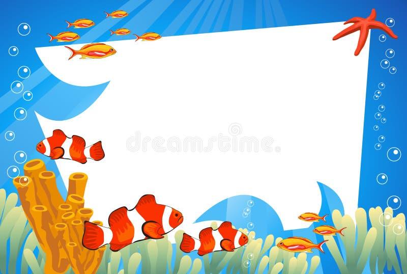 undervattens- livstid vektor illustrationer