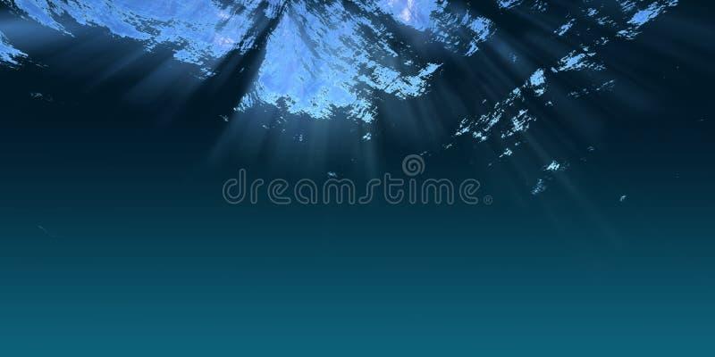 undervattens- plats royaltyfria foton