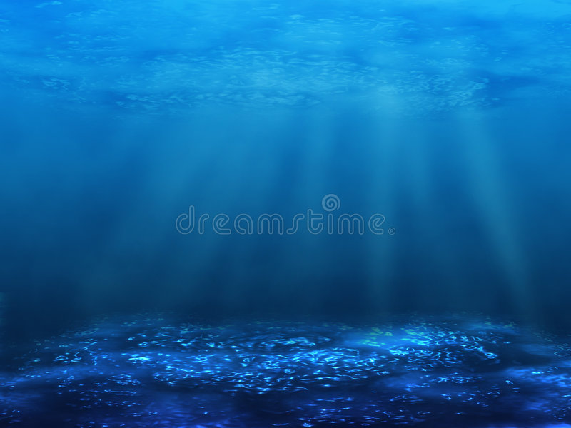 undervattens- underkant stock illustrationer