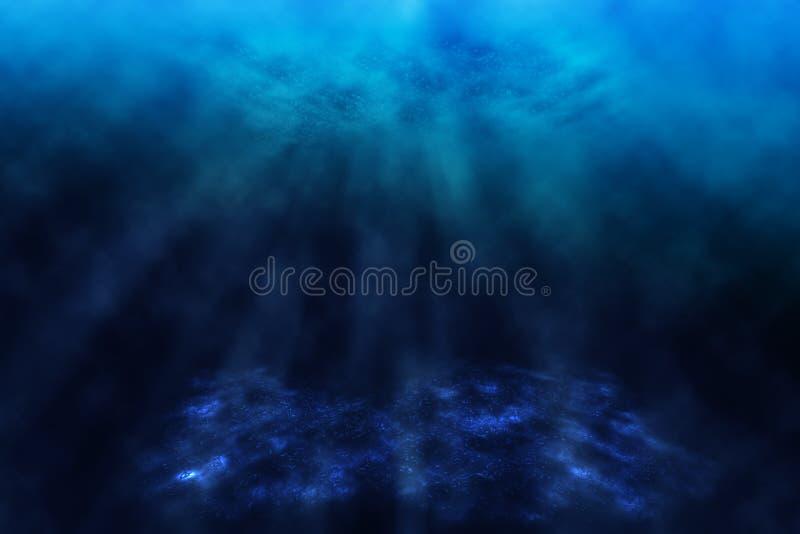 Undervattens- värld. royaltyfri illustrationer