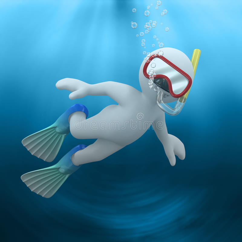 Download Underwater stock illustration. Image of yellow, lovable - 14016094