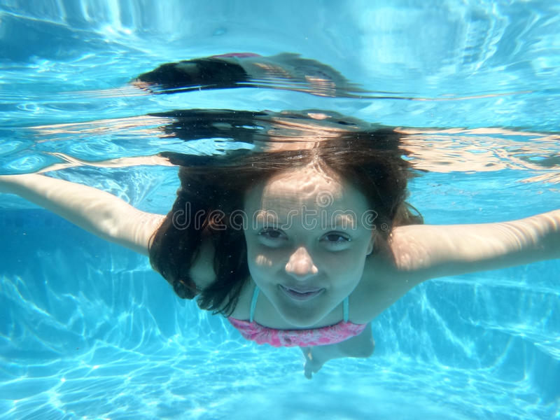 Download Underwater stock photo. Image of little, diving, pretty - 26799408