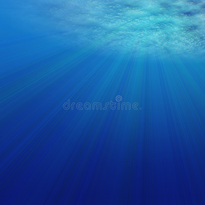 Underwater royalty free illustration
