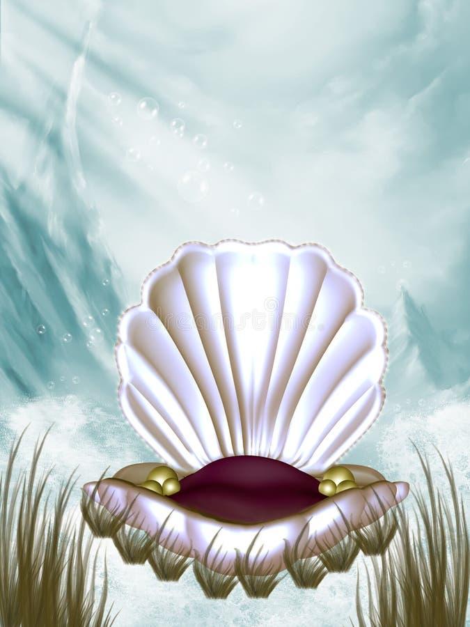 Underwater stock illustration