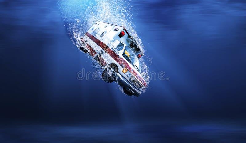 Download Underwater ambulance stock illustration. Illustration of drop - 31573307
