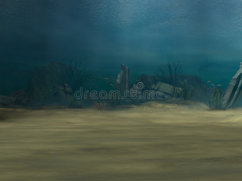 Download Underwater Background stock illustration. Image of exploration - 1968597