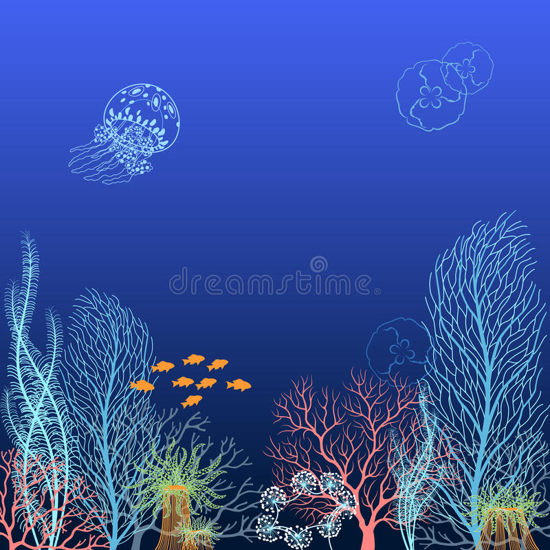 Download Underwater Background Stock Photography - Image: 24210762