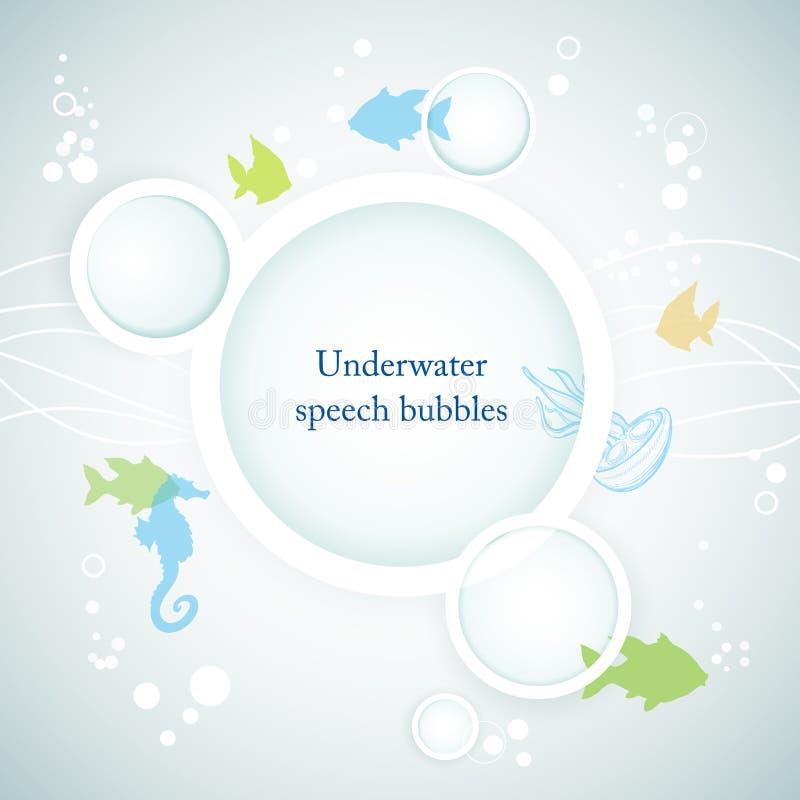 Download Underwater background stock vector. Illustration of marine - 25696035