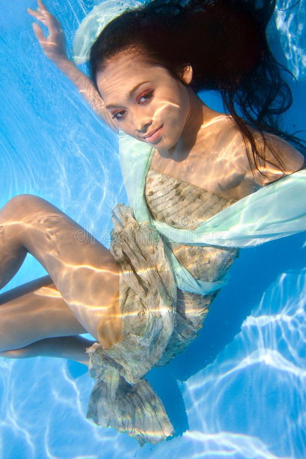 Download Underwater Beauty stock image. Image of beauty, female - 8965687