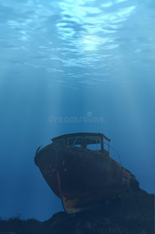 Download Underwater Boat stock image. Image of plaice, fishermen - 829143