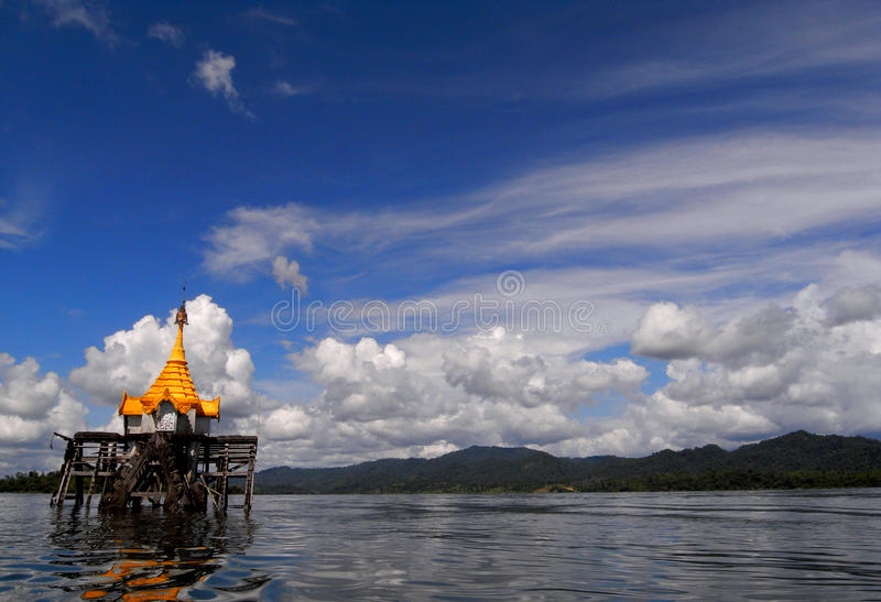 Download The Underwater Buddhist Church Editorial Stock Photo - Image: 30489043