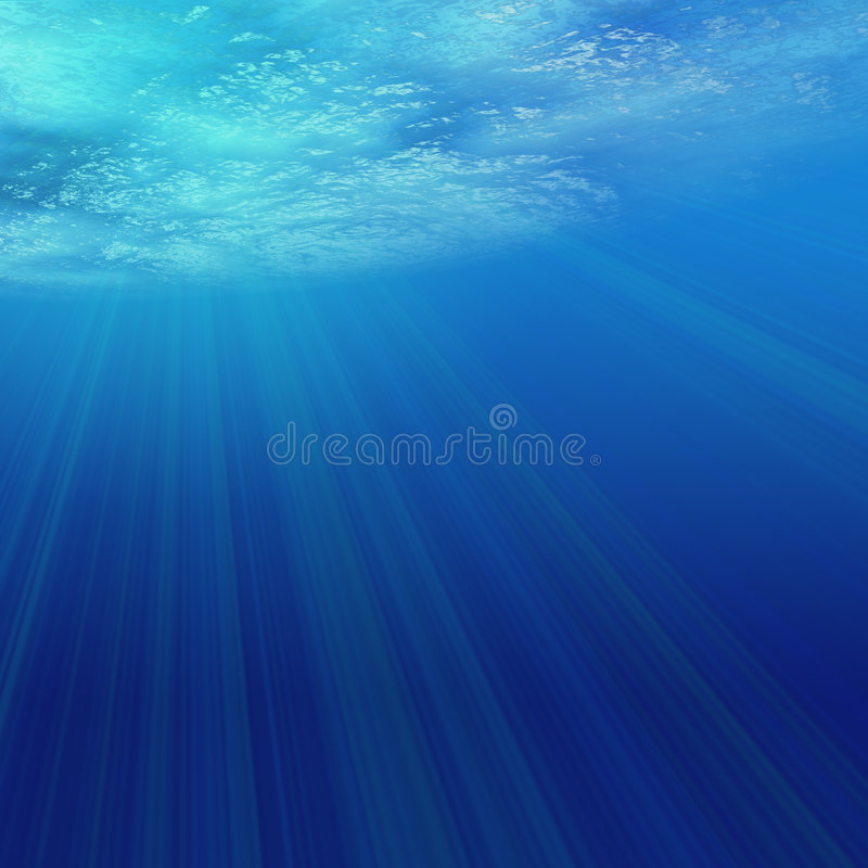 Underwater claro foto de stock royalty free