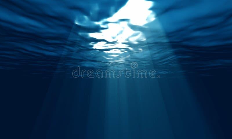 Underwater claro fotos de stock royalty free