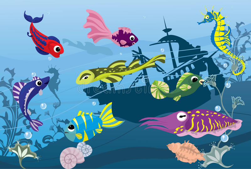 Download Underwater Life In Sea Royalty Free Stock Photography - Image: 22177827