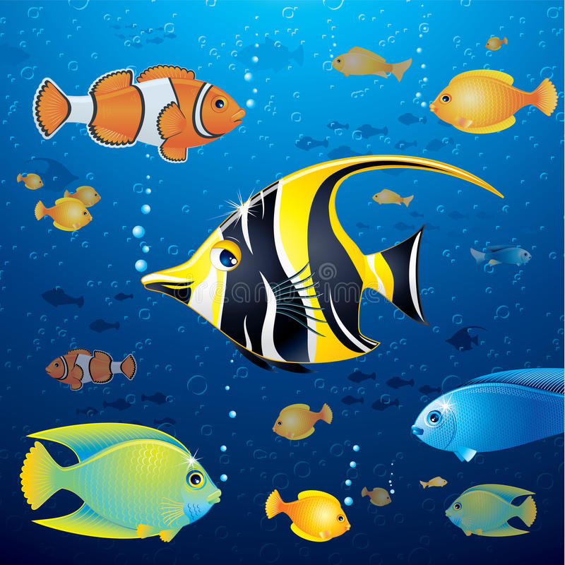 Download Underwater Life Vector Stock Photos - Image: 27290103