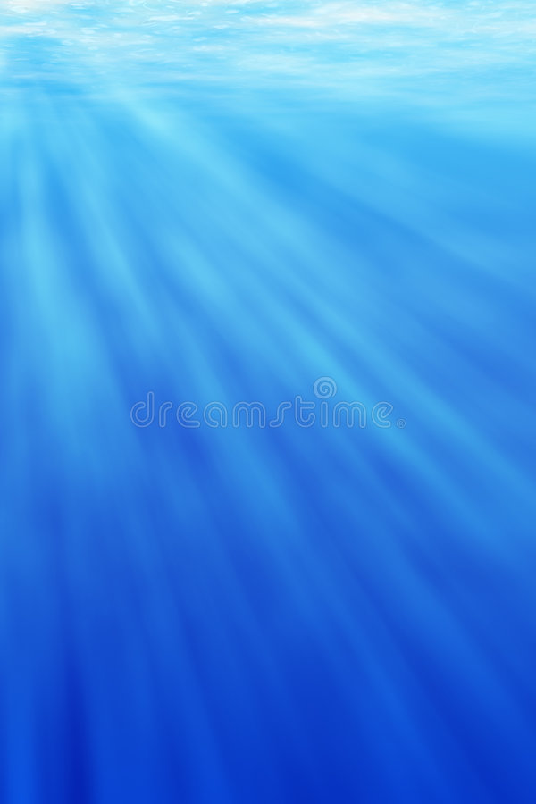 Underwater light vector illustration