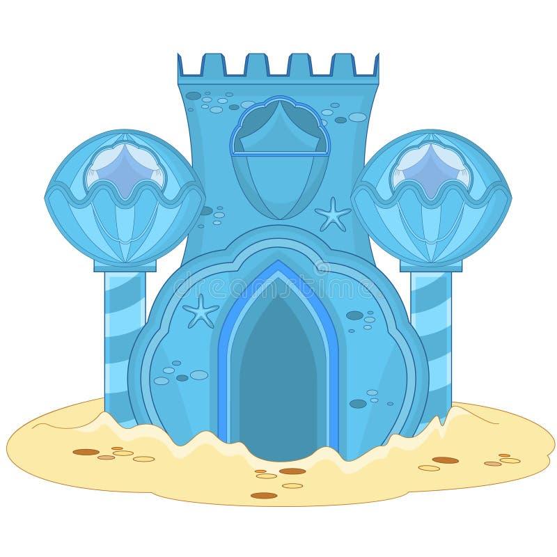 Underwater Palace stock illustration