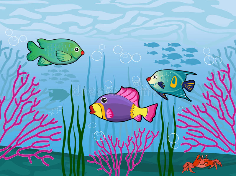 Download Underwater Scene Royalty Free Stock Photos - Image: 19760048