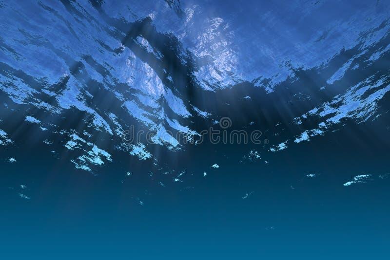 Underwater scene royalty free stock photo