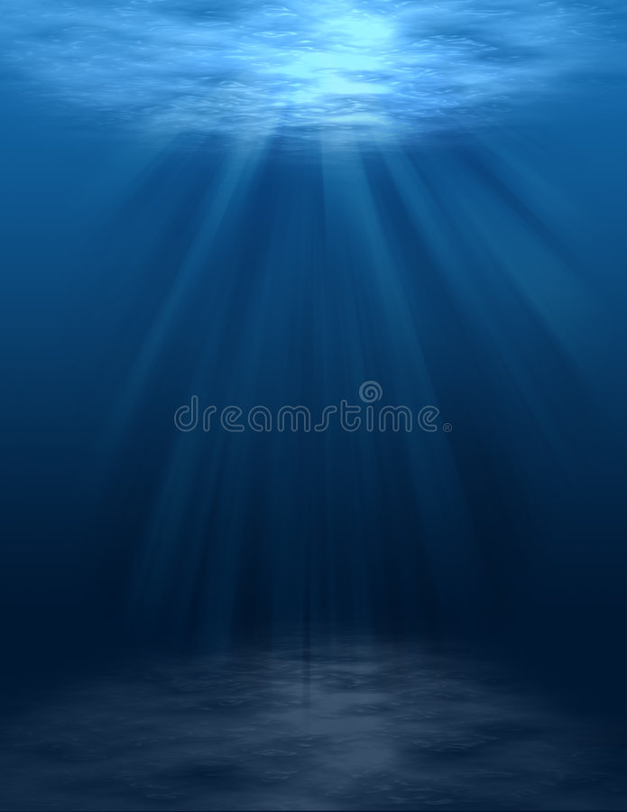 Free Underwater Scene (blank) Royalty Free Stock Photos - 4264808