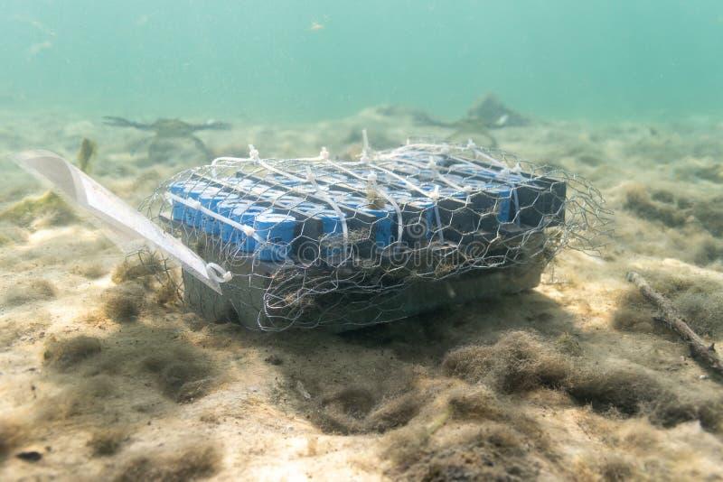 Underwater Test Equipment stock image