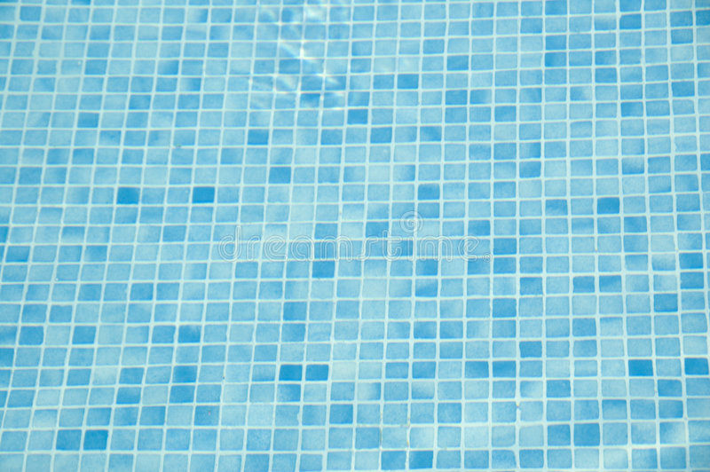 Underwater tiles royalty free stock photos