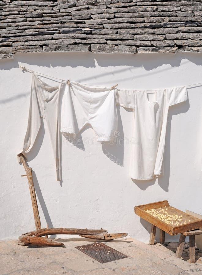 Download Underwear stock photo. Image of hanging, alberobello - 22123444