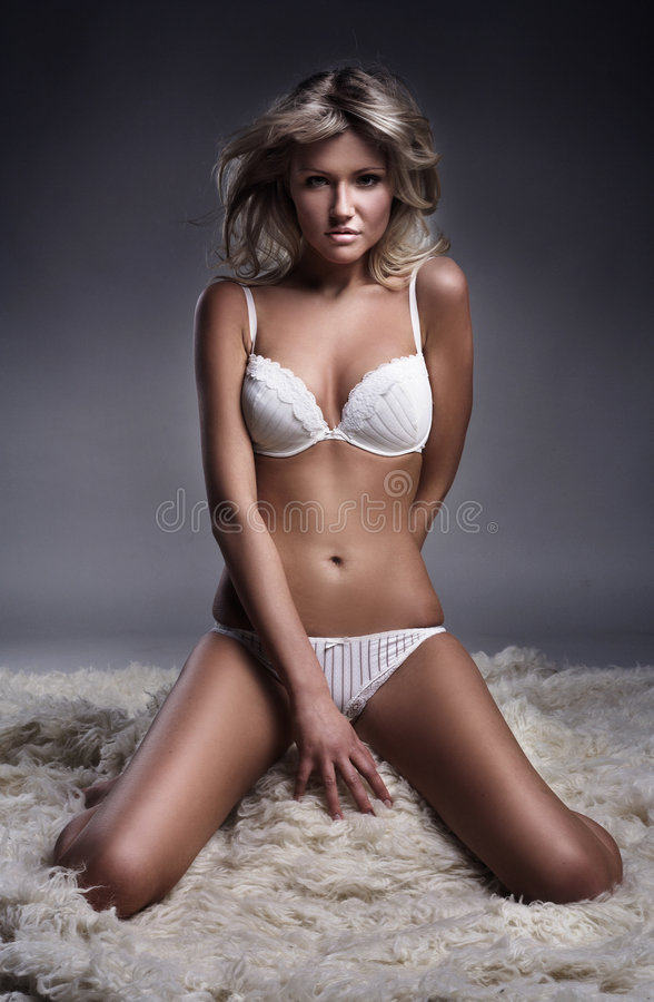 Download Underwear stock photo. Image of blonde, model, style, beautiful - 9346684