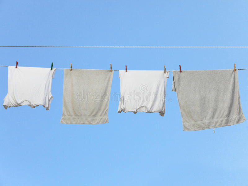 Download Underwear drying stock image. Image of cotton, breeze - 18602081