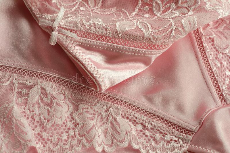 Download Underwear With Needle Lace Of Rosy Color Stock Image - Image: 6950385