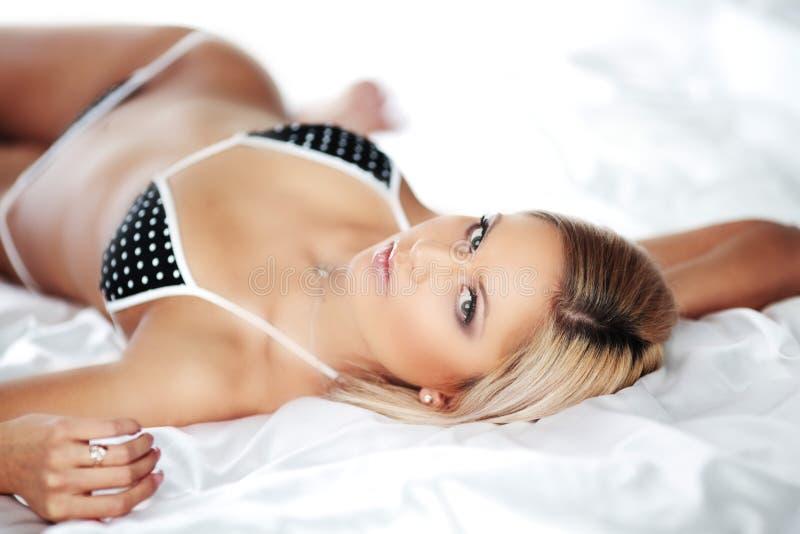 Underwear Woman Stock Image
