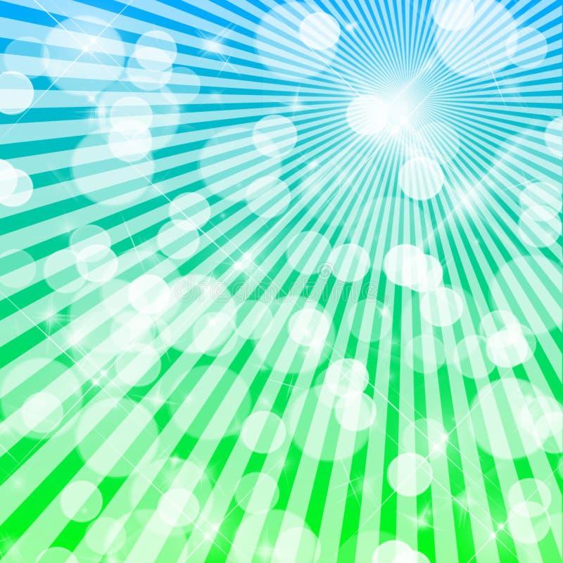 Undeutliche Leuchten vektor abbildung