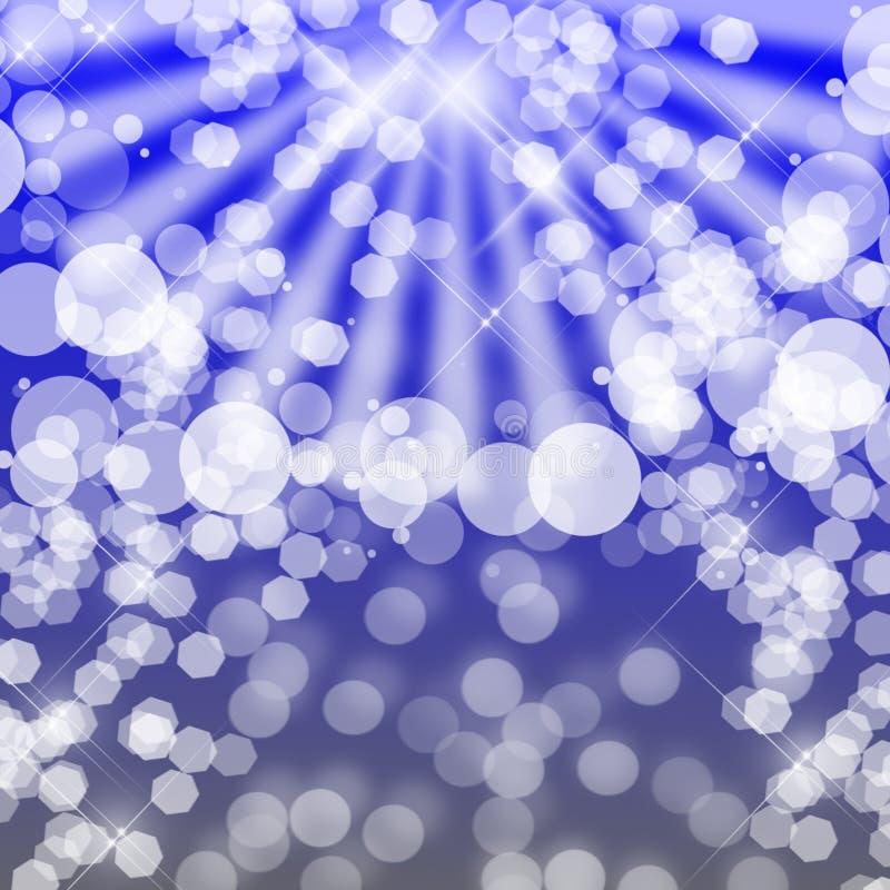 Undeutliche Leuchten stock abbildung