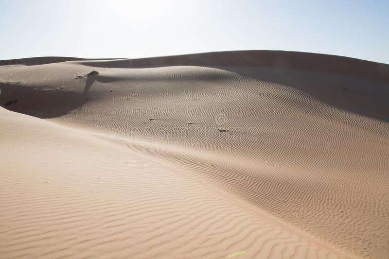 Wahibah Sands Dune Bashing royalty free stock photography