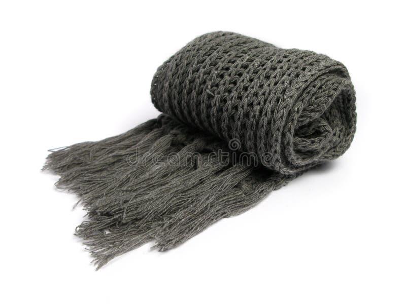 Une écharpe faite en de laine images stock