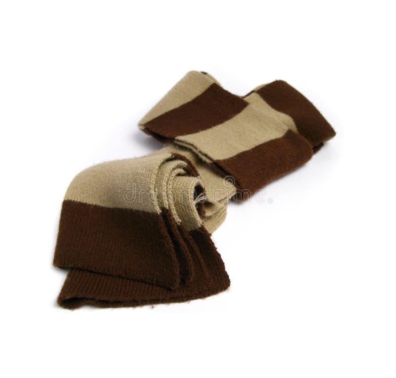 Une écharpe faite en de laine images libres de droits
