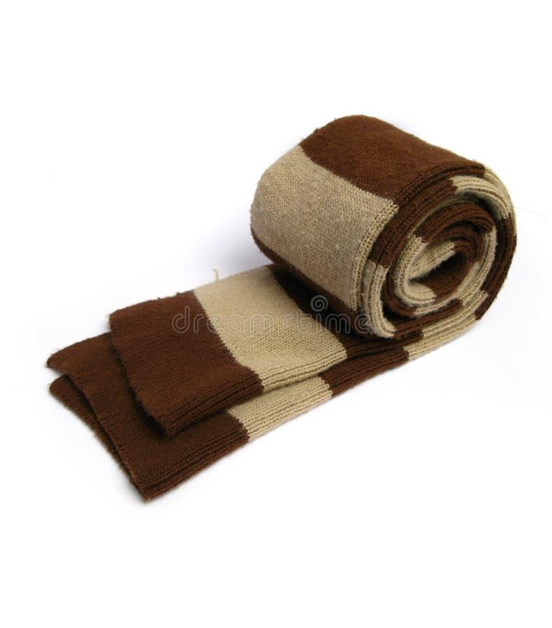 Une écharpe faite en de laine image stock