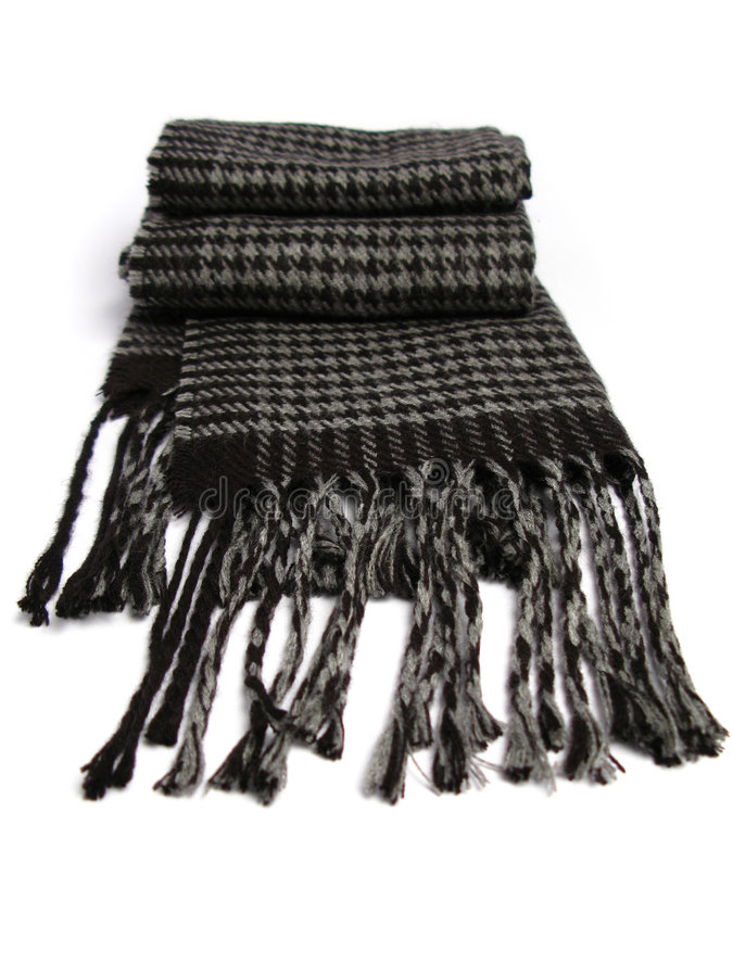 Une écharpe faite en de laine photo libre de droits