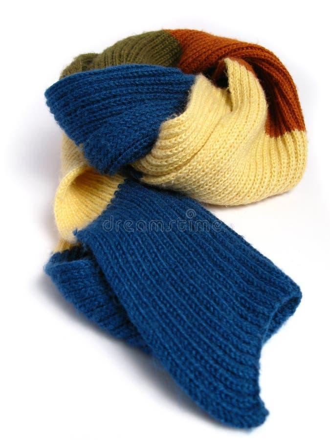 Une écharpe faite en de laine image libre de droits