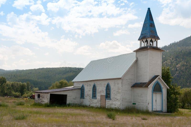 Église abandonnée photos libres de droits