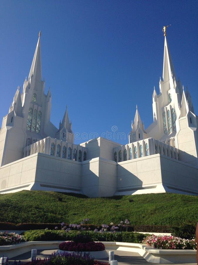 Une église hors de temps image libre de droits