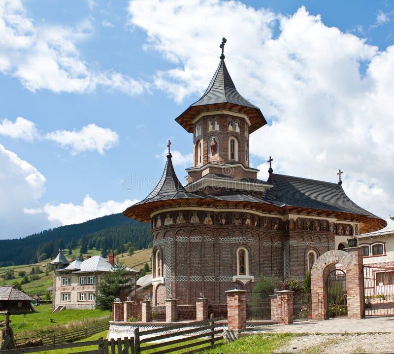 Une église mignonne, neuve et petite image libre de droits