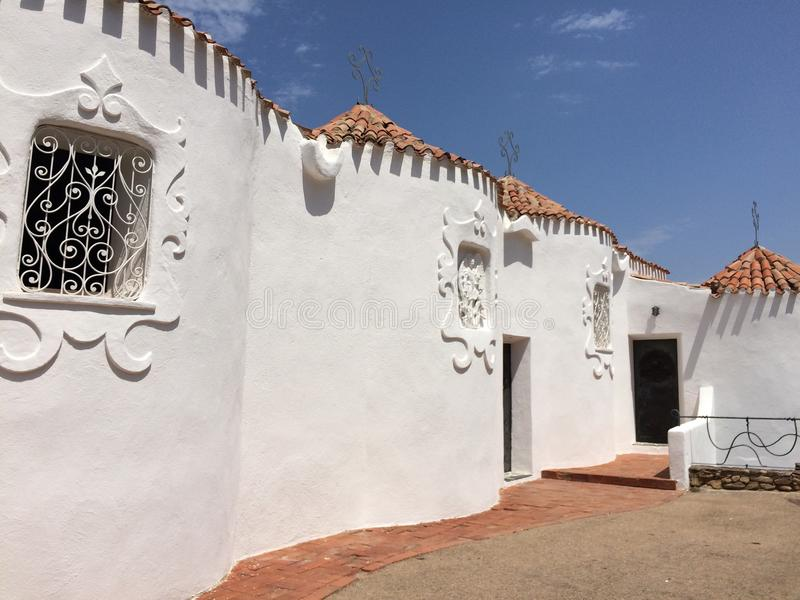 Une église sur l'île Sardaigne photos stock