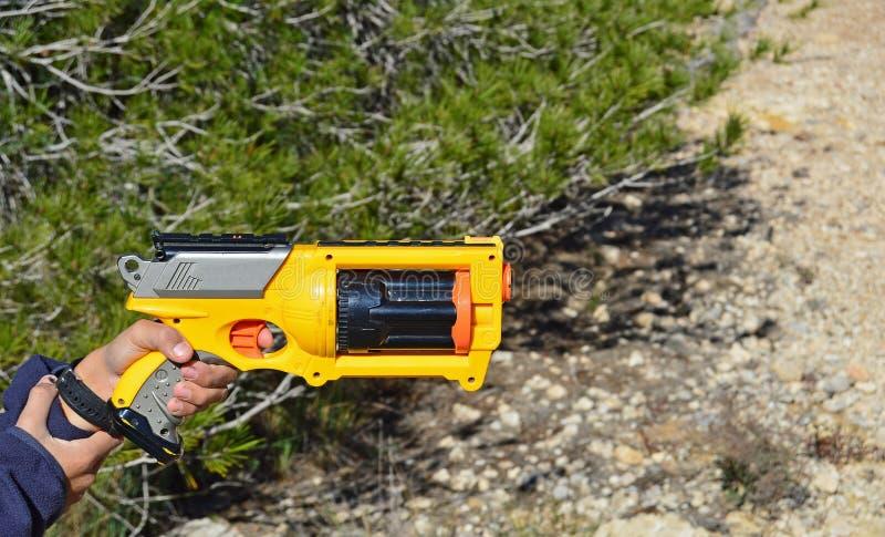 Une arme à feu de Nerf images libres de droits