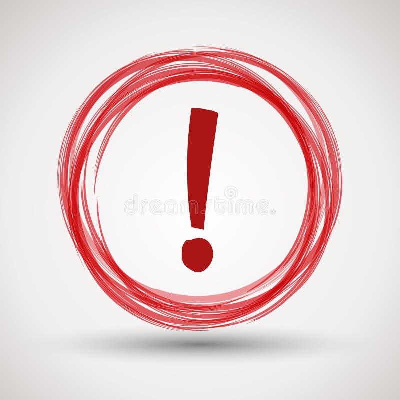 une attention rouge images libres de droits image 28802159
