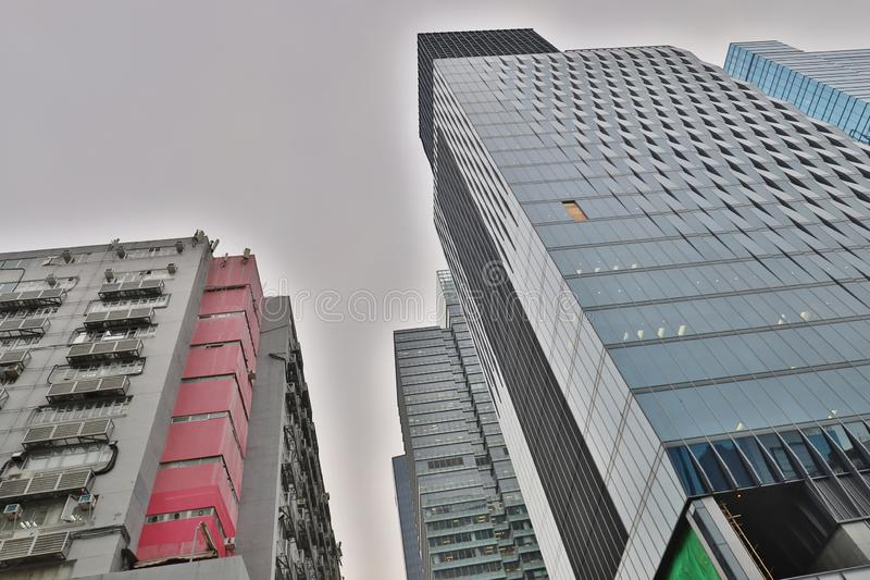 une baie de Kowloon, Hong Kong New CBD photo stock