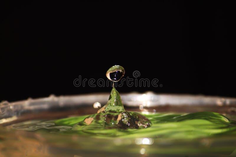 Une baisse de l'eau images stock